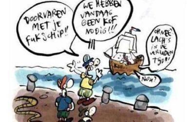 Hij huild: vaarwel kofschip in het mbo!
